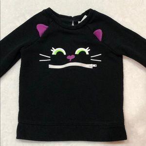 Cat & Jack cat sweatshirt